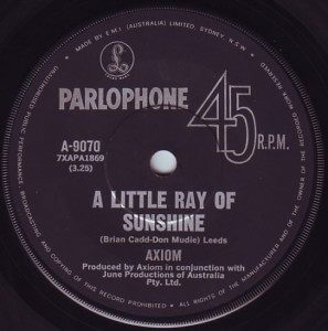 a little ray of sunshine axiom