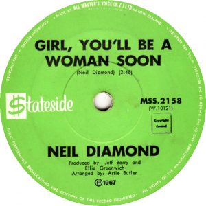 girl you'll be a woman soon lyrics