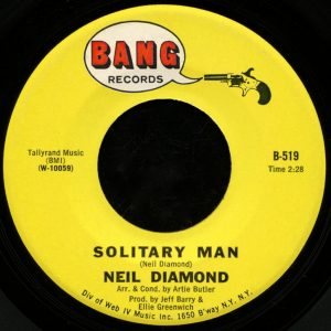 solitary man lyrics